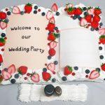 結婚式用ウェルカムボード