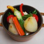 野菜の炊合せ