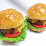 ハンバーガー 食品サンプル